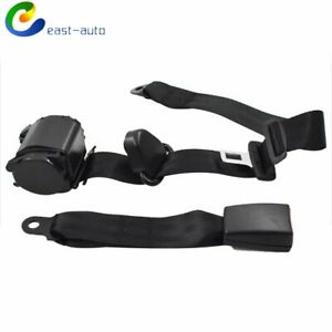 Safety Belt Shoulder 3 Point Seat Belt Retractable For Jeep Cj Yj Wrangler 82 95