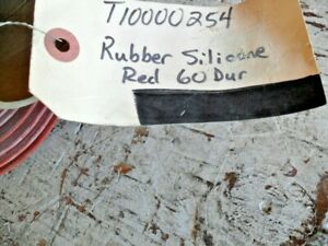 Silicone Rubber Sheet High Temp Red orange Commercial 38 x36 x1 16 x 60 Dur