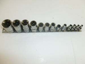 Snapon Inverted Torx E4 Through E24 13 Piece Set E8 Only Is Cornwell