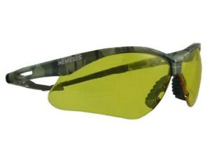 Jackson Nemesis Camo Safety Glasses With Amber Lens Free Shipping