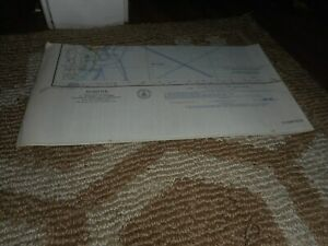 Vintage Aeronautical Navigation Map Chart 1966 Norfolk Virginia