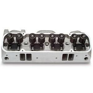 Edelbrock 60599 Performer Rpm Pontiac Alum Head Each