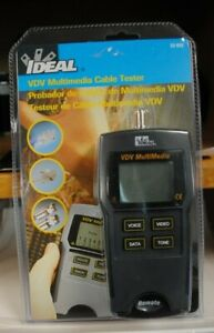New Ideal 33 856 Vdv Multimedia Cable Tester