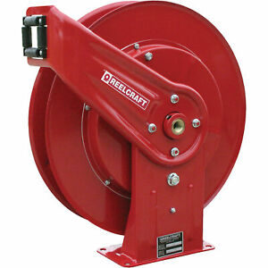 Reelcraft Pressure Washer Hose Reel 5000 Psi 3 8in X 50ft Capacity Pw7600 Ohp