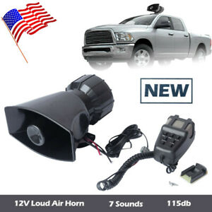 12 Volt Siren In Stock   Replacement Auto Auto Parts Ready
