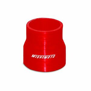 Mishimoto Mmcp 22525rd Mishimoto 2 25 To 2 5 Silicone Transition Coupler Red