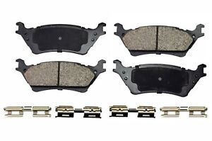 Disc Ceramic Brake Pad Set Rear For 2012 2013 2014 2016 2017 Ford F150
