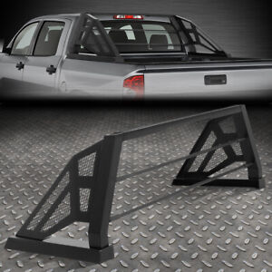 For 07 18 Toyota Tundra Styleside Truck Bed Aluminum Mesh Chase Rack Roll Bar