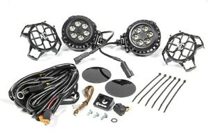 Kc Hilites Lzr Series Led Lights 4in Round Driving 300