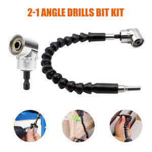 105 Degree Right Angle Drill Attachment Adapter Electric Power 1 4 Shaft Uk