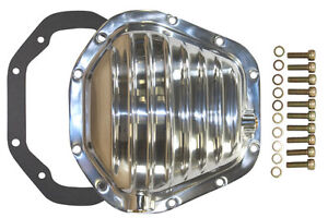 Polished Finned Dana 60 Rear Differential Cover Kit Chevy Ford Mopar Dodge Jeep