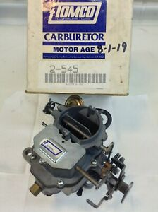 Carter Bbd Carburetor 1974 1983 Chrysler Dodge Plymouth Cars Trucks 318 Engine