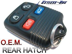 02 10 Ford Explorer Keyless Entry Remote Oem Key Fob 2l2t 15k601 Ba Rear Hatch