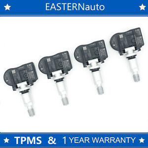 4pcs Tire Pressure Sensor Tpms Fit 14 16 Nissan Rogue 407003vu0a 433mhz Ts ns30