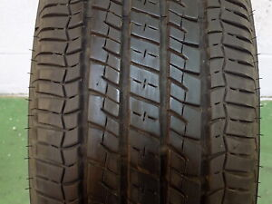 Set Of 4 Used P225 65r17 102 T 7 32nds Firestone Champion Fuel Fighter