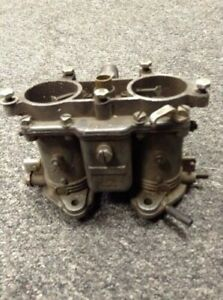 Porsche 356 912 Solex Carburetor 40 Pll 4 Split Shaft For Parts Only