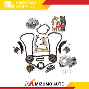 Timing Chain Kit Oil Pump Gmb Water Pump Fit 07 16 Buick Cadillac Suzuki 3 6l