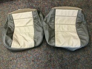 Leather Replacement Seat Covers 2005 Eddie Bauer Excursion