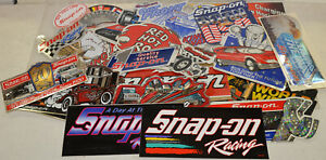 New Vintage Snap On Tools Lot Of 20 Tool Box Stickers Decals Man Cave