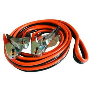 20ft 25ft 2 4 Gague Heavy Duty Comercial Jumper Cable Power Cars Truck Van