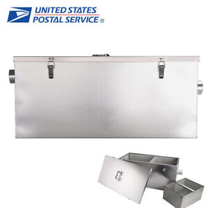 New 25lb 13 Gallons Per Minute Grease Trap Interceptor Restaurant Filter Basket