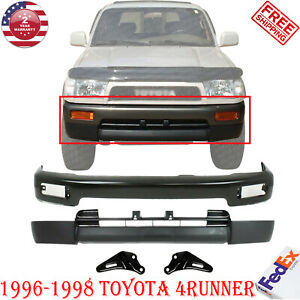 Front Bumper Primed Steel Valance Bracket For 96 98 Toyota 4runner Base Sr5