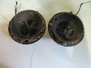 Vintage Pair Of 1968 1969 Ford Falcon Front Headlight Bucket Assemblies