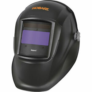 Hobart Impact Variable shade Welding Helmet Black Color 770756