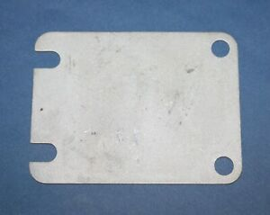 1953 1954 1955 Corvette Manifold Shut Off Plate Original