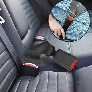 Durable Car Seat Belt Extension Extender Wide Buckle Clip Hard Fixed Expander Us