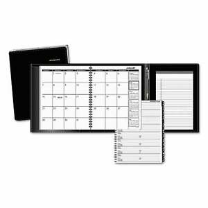 At a glance Plus Monthly Planner 8 3 4 X 6 7 8 Black 2020 Black
