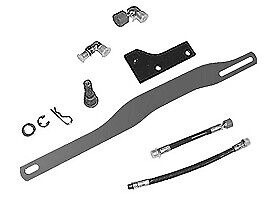 X400 x500 Hdgt 3 Point Hitch Adapter Kit For X700s Bm23883