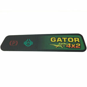 Instrument Panel Indicator For Gasoline 4x2 Gators Above Serial Number 021061