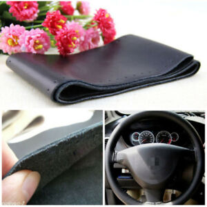 Genuine Leather Steering Wheel Cover For Car Suv 14 5 15 For Toyota Camry