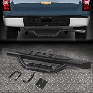For 2 Receiver Truck Bed Heavy Duty Aluminum 3 75 od Oval Tow Hitch Step Bar