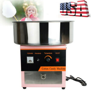 Useful Commercial Electric Cotton Candy Machine Floss Maker Carnival Party 1000w