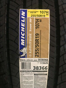 4 New 255 50 19 107h Michelin Latitude Tour Hp Tires