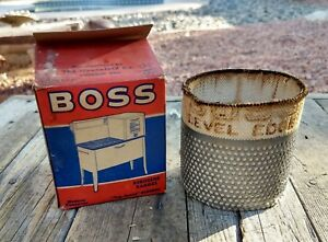 Nos Vintage No 6 Boss Bevel Edge Wick For Oil Cook Stoves Room Heaters