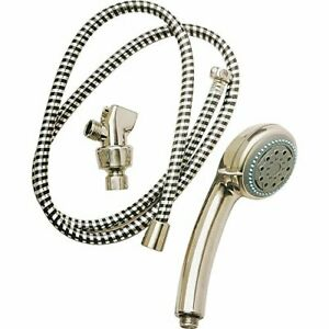 Plumb Pak Pp828 52 Handheld Shower 5 Spray Functions Polished Chrome