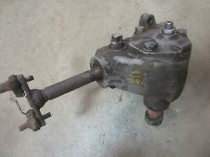 1957 Buick Special Manual Steering Gear Box Assembly Hot Rod Rat Rod Parts