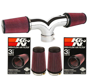 K n Filter For Dual 1997 2000 Chevy Corvette C5 5 7l V8 Twin Air Intake
