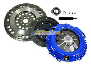 Fx Stage 2 Clutch Kit Light Chromoly Flywheel For Acura Rsx Honda Civic Si K20