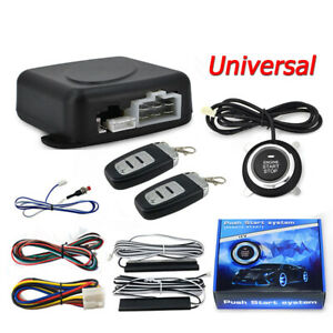 Universal Remote Preheating One button Start Modification Keyless Entry System