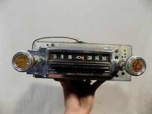 1965 Chevy Chevelle Radio Malibu Am Ss 65 66 Convertible Gm Oem Delco Works