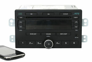 05 08 Chevrolet Optra Suzuki Reno Am Fm Radio Cd Player Aux W Bluetooth 96805108