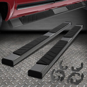For 07 19 Silverado Sierra Extended Cab 5 Stainless Step Bar Running Boards