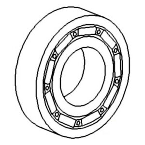 1109045 72098356 Bearing Fits Allis Chalmers Ac Compact Tractor 5020