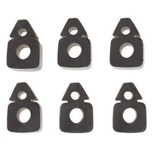 354177s Hood Tip Center Panel Rubber Bumper 6 Pack Fits Ford 600 700 800 900