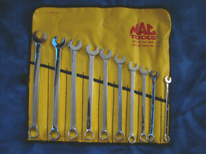 Mac Tools Metric Combination Wrenches New Mint Condition