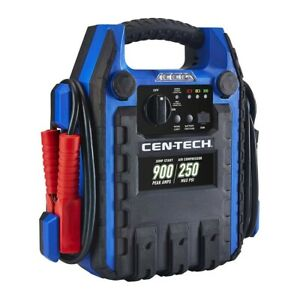 Portable 5 1 Jump Starter Battery Jumper Air Compressor Power Auto Charger Pack